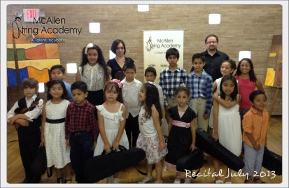 Recital Group july 2013